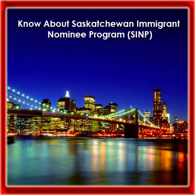 Saskatchewan Immigrant Nominee Program (SINP)