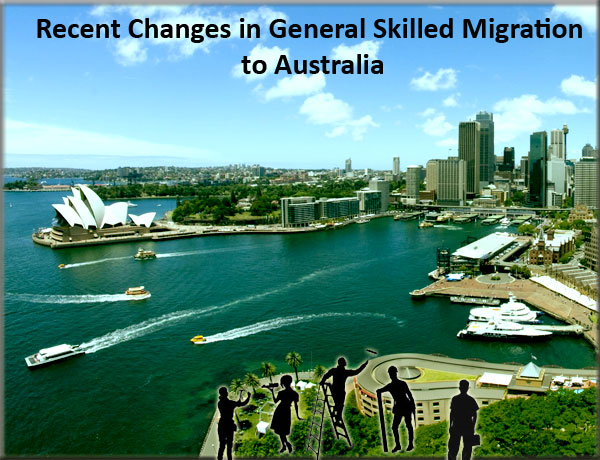 Recent Changes in General Skilled Migration to Australia