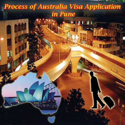 Process of Australia visa application in Pune
